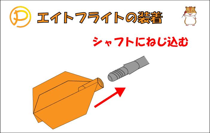 8Flight(エイトフライト)の取り付け方法